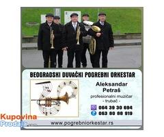 Pogrebni orkestar trubači bleh muzika  za sahrane Srbija Beograd