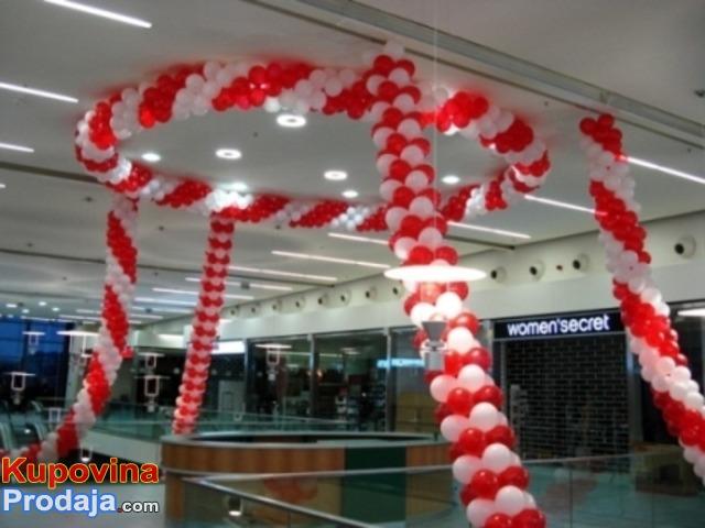 KURS DEKORACIJE BALONIMA,prodaja opreme, baloni, konfete,