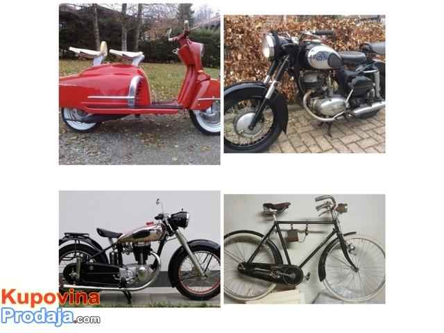 Kupujem stare motocikle i bicikle