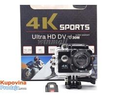 Akciona Kamera - Ultra HD 4K