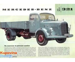 Kupujem mercedese L321 i 1518