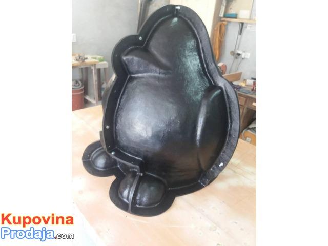 Izrada i remont kalupa od poliestera (stakloplastika)
