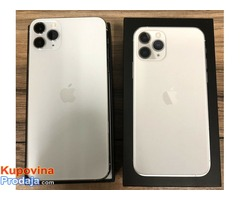 Apple iPhone 11 Pro 64GB  za 500 EUR i Apple iPhone 11 Pro Max 64GB za 530 EUR