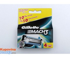 Gillette Mach3 sa četiri uloška