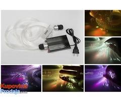 ZVEZDANO NEBO - LED RGB Opticko vlakno