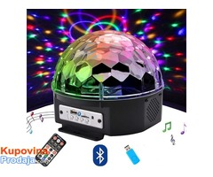 LED MP3 bluetooth disko kugla