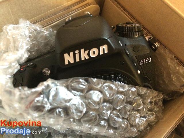 Nikon D750 Full-Frame DSLR Camera with AFS 24-120mm VR Lens Kit