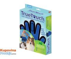 True Touch Rukavica za četkanje i masažu kućnih ljubimaca