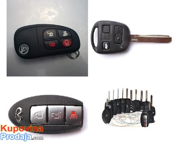 Kodiranje kljuceva-popravka auto brava
