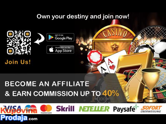 Tražimo Saradnike/Affiliate za promovisanje našeg Web-sajta