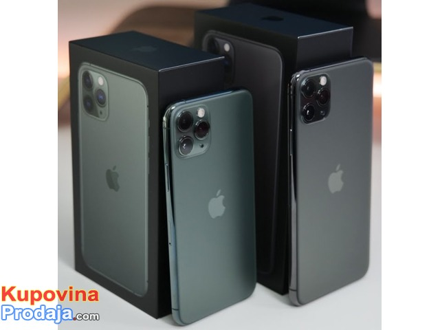 Apple iPhone 11 Pro 64GB za $500, iPhone 11 Pro Max 64GB za $550,iPhone 11 64GB za $450