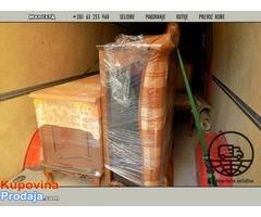 Selidbe i transport robe i usluga pakovanja Vaših stvari