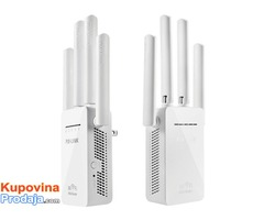 Pix-link Wireless WiFi Repeater Remote Extender 4 Antenna