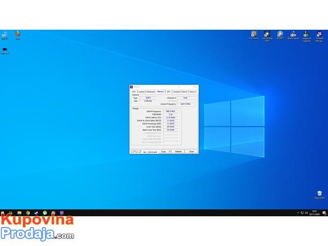 Corsair Vengeance 8 GB (2 x 4 GB) DDR3 1600 MHz
