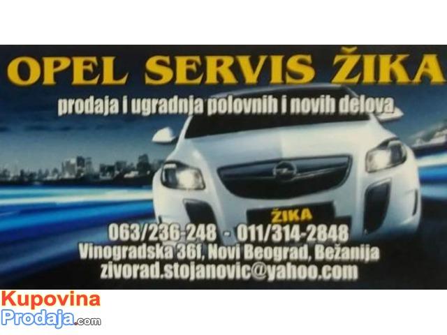 Opel delovi i servis Beograd