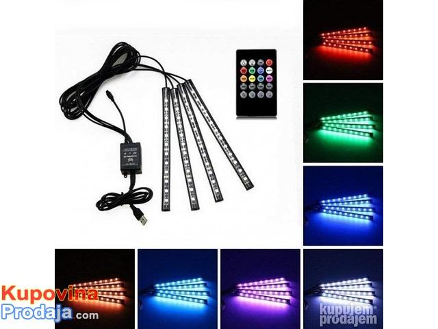LED trake za auto RGB - 1/9