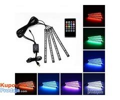 LED trake za auto RGB - Fotografija 1/9