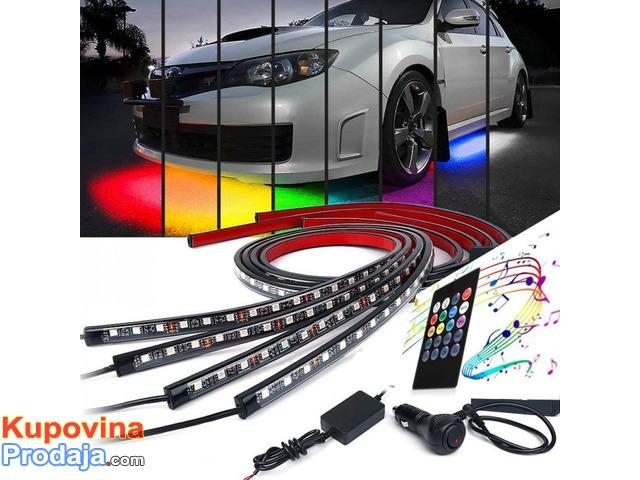 LED trake za auto RGB - 2/9