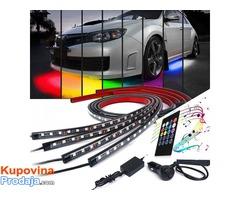 LED trake za auto RGB - Fotografija 2/9