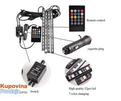 LED trake za auto RGB - Fotografija 3/9