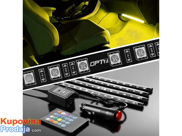 LED trake za auto RGB - 4/9
