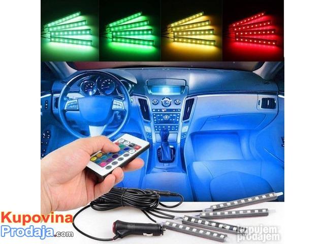 LED trake za auto RGB - 5/9