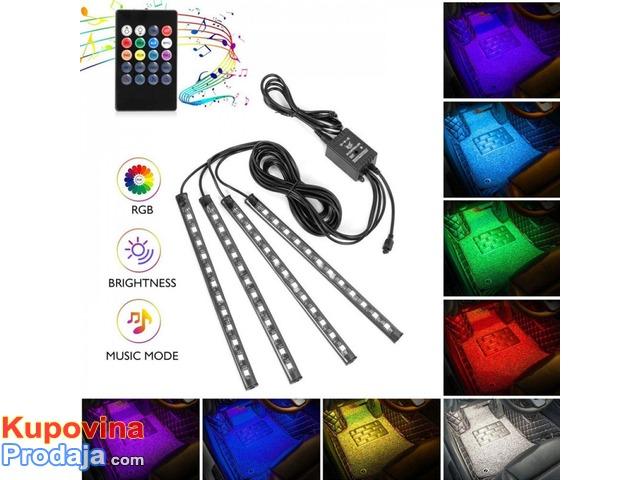 LED trake za auto RGB - 6/9