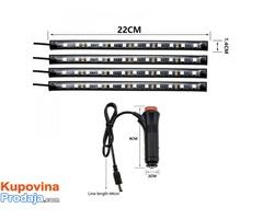 LED trake za auto RGB - Fotografija 9/9