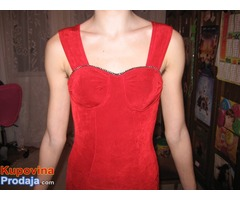 Nova elegantna crvena haljina