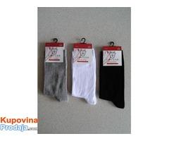 Ženske čarape 100% pamuk