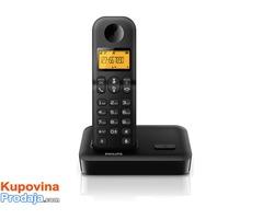 Philips bežični telefon (D1501B/53)