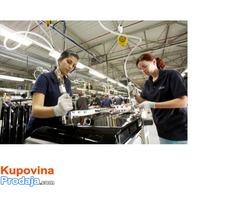 Posao SLOVACKA SAMSUNG i Volkswagen auto industrij