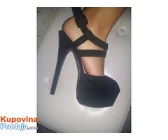 Sandale  sa visokom stiklom